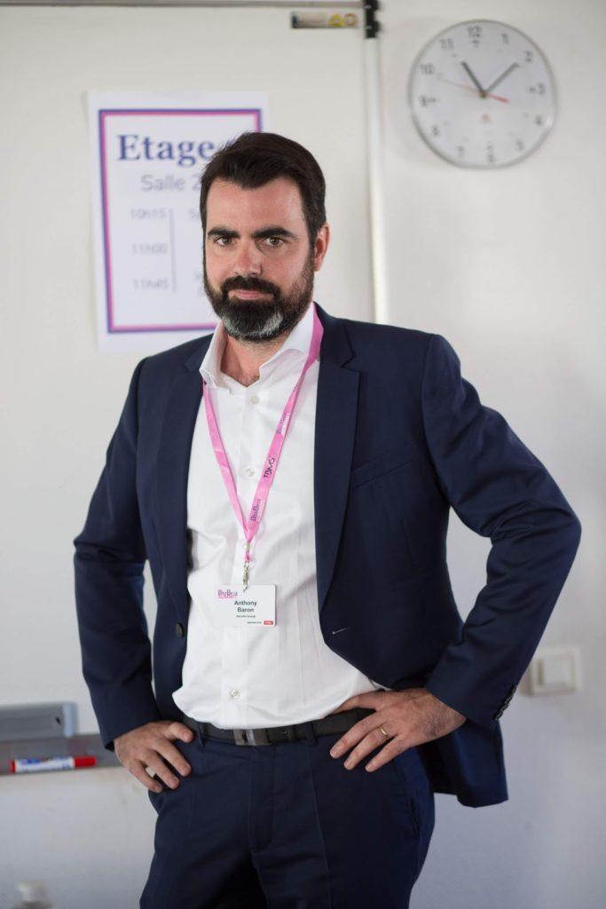 """Anthony Baron - Co-fondateur DELVILLE Management - témoignait pour Bee4 lors de la conférence """"N'optimisez plus votre SEO... Révolutionnez-le !"""""""