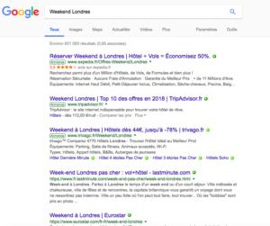 Des conséquences pour le référencement naturel causé par google destination