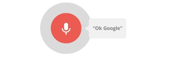 recherche vocal ok google seo