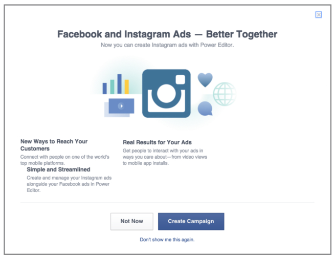 Facebook et Instagram Ads