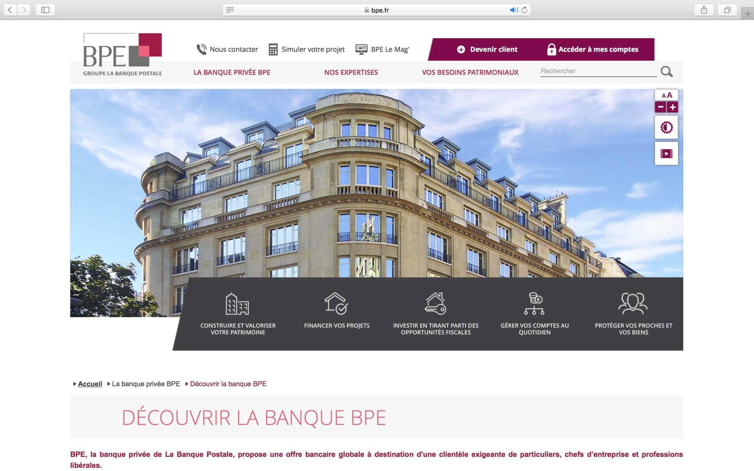 BPE Lance son nouveau site web !