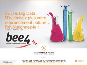 E-Commerce Paris : Demandez la présentation de la conférence «N'optimisez plus votre référencement naturel… Révolutionnez-le !»