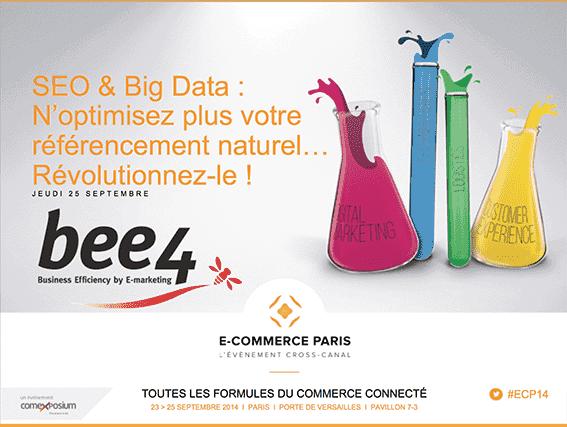 Conférence SEO Salon E-Commerce Paris : WebMarketing & Compagnie en Parle !