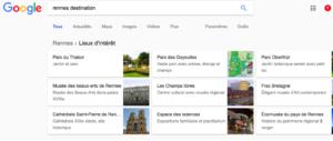 Des conséquences pour le e tourisme causé par Google Destinations