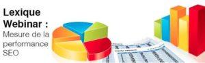 Lexique Webinar Mesure SEO : KPI référencement