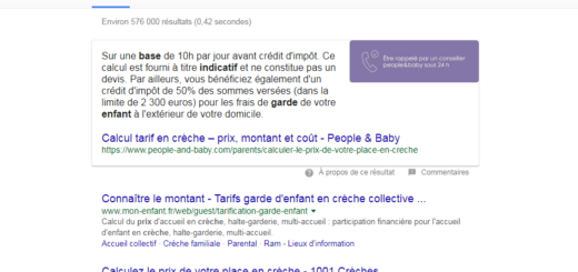 Exemple position 0 par Bee4 agence seo