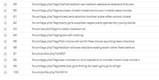 SEO - Vérifier le contenu des anciennes URLs du nom de domaine