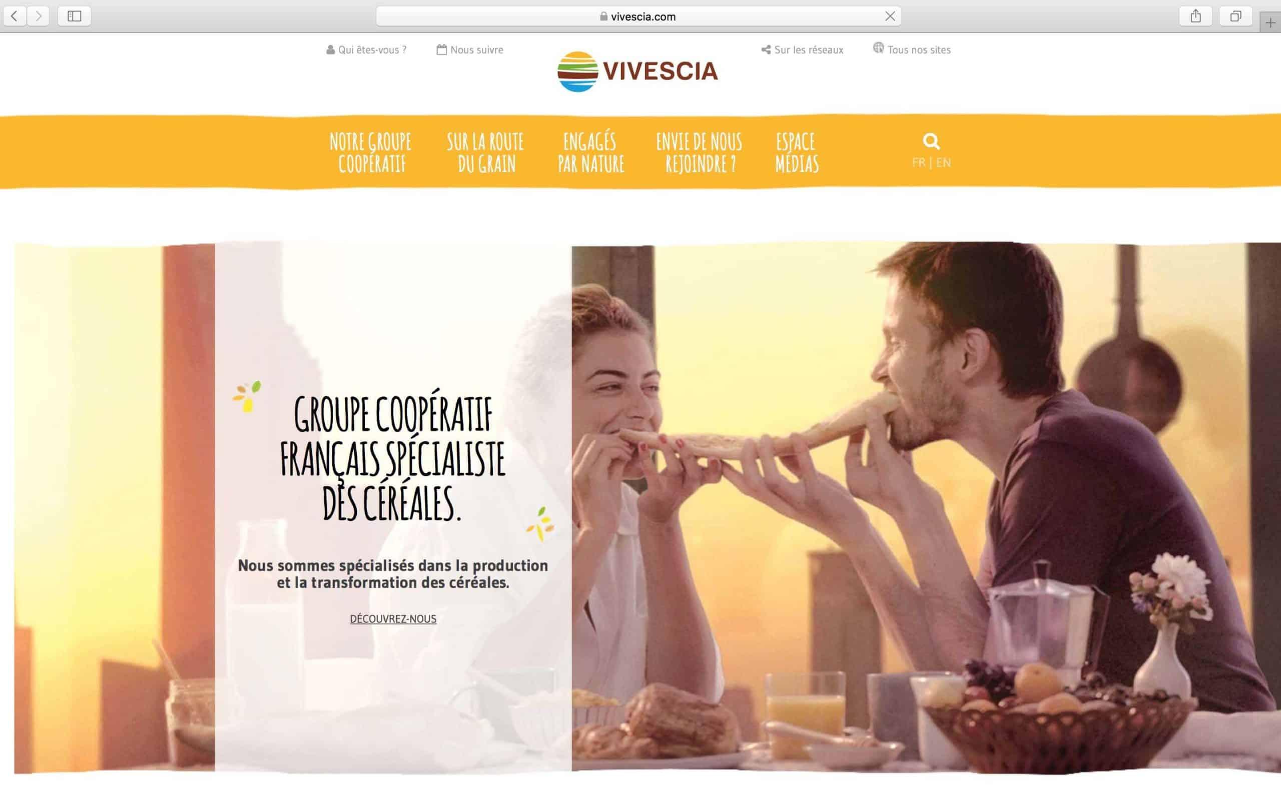 VIVESCIA : lancement du nouveau site web corporate