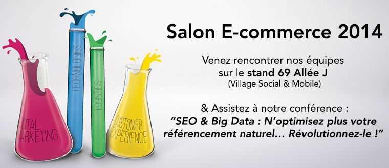 Bee4 est au Salon E-commerce Paris 2014 !